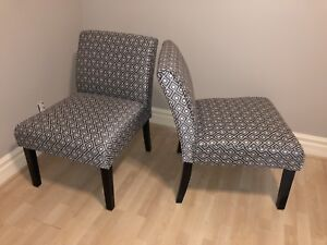 Accent chairs for sale - excellent condition