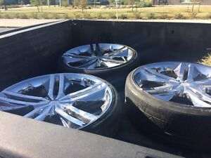 """24"""" rim and tires"""