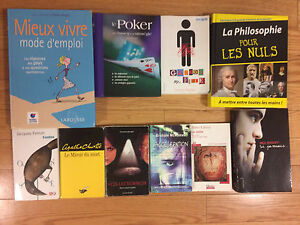 All kinds of French books