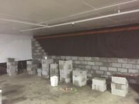 MASONRY WORK - brick, block and natural stone