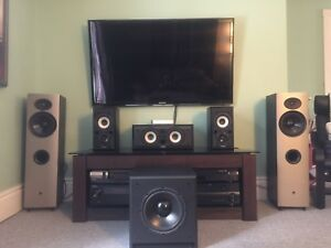 Surround Sound Speakers and Subwoofer