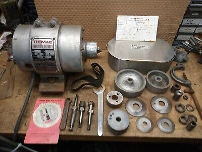 Themac Model J-7 Heavy Duty Precision Tool Post Grinder With Case