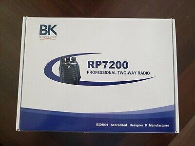 Bk Technologies Professional Way Radio Rp7200 Handheld