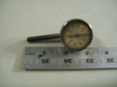 L. S. Starrett Dial Indicator 196 Back Plunger.001 Jeweled Made In Athol Mass.
