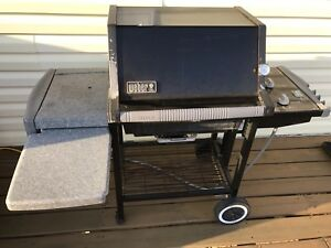 WEBER SILVER BARBECUE