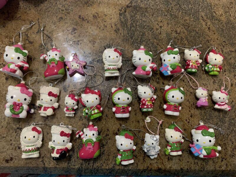 Sanrio hello kitty christmas ornaments