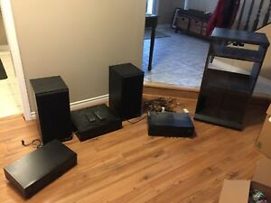Home Stereo System and Stand