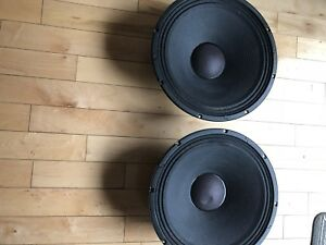 One pair Jbl M 511 8a 15 inch speaker for jbl eon
