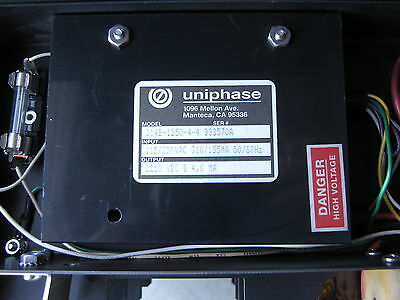 He-ne Laser Power Supply 314s-1250-4-4 1250vdc 4ma With Switch Power Socket