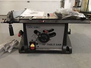 "Central Machinery 10"" Table Saw 97896, never used!"