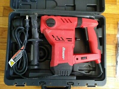 Bauer 1-18 In. Sds Variable Speed Pro Rotary Hammer Drill
