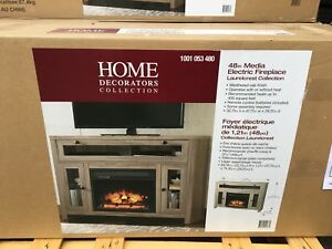 "48"" Media electric fireplace"