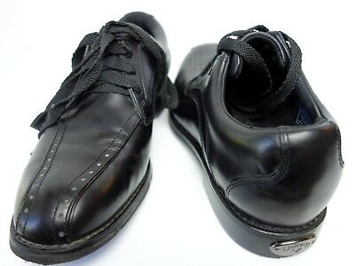 sports shoes d9ef0 7ce75 Callaway Mens FT Chev Blucher Premium Black Golf Shoes Size 8 .5 M62202 UEC