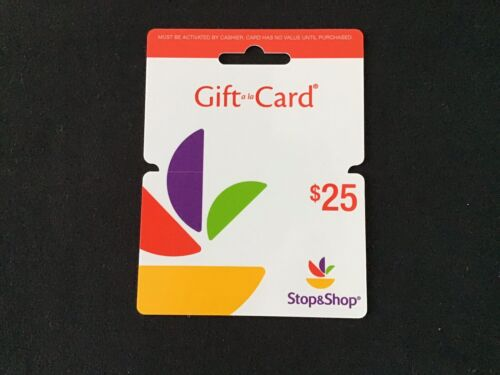 Stop And Shop 25 Gift Card - $24.99