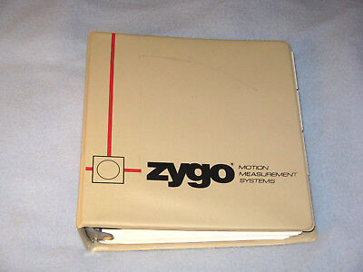 Zygo Axiom 220 Laser Measurement System Operation And Reference Manual Omp0220h