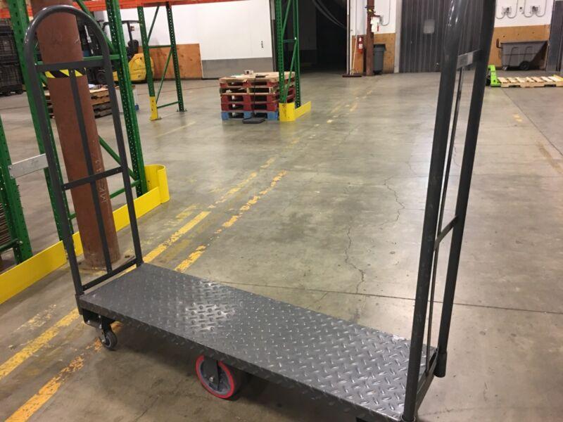 Warehouse Utility Carts - UBoat Six Wheelers Versacart