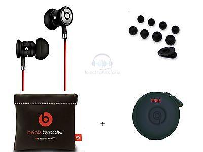 Black urBeats w control Talk Mic Microphone In-Ear Earbuds Beats Headphones