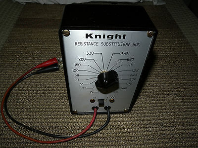 Knight Resistance Substitution Box. U.s.a Wtested Good. Condition Great.