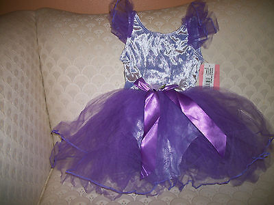 Capezio Sugar Plum Fairy Dress Girls' Ballet Dance Lavender New In Package - Sugar Plum Fairy Dress