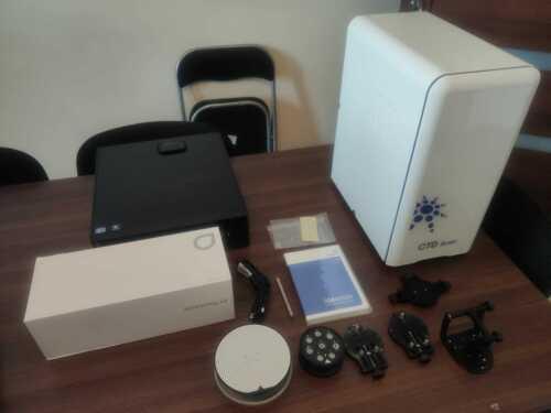 Medit Identica desktop dental scanner CAD/CAM exports STL