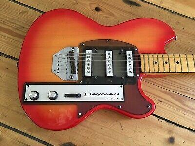 Hayman 1010 Electric Guitar EX Mott The Hoople 1970s