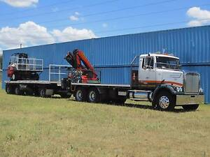 CRANE TRUCK/FORKLIFT COMBINATION - WILL SELL SEPARATELY Ipswich Ipswich City Preview