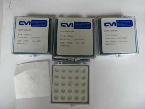 CVI / LaserTech Laser Optics 45MR025-EL - Lot of 4 units - NH48