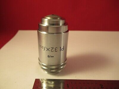 Leitz Germany Pl 32x Infinity Objective Microscope Part Optics As Pic 1e-b-36