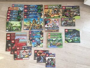 LOT OF LEGO INSTRUCTION MANUALS