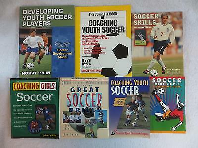 Lot of 7 SOCCER YOUTH COACHING Drills Skills Girls'