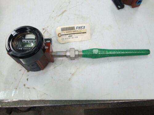 "Moore Industries Temperature Transmitter TDZ2/A-P3/U6 7-1/2"" Deep S/S Well (New)"