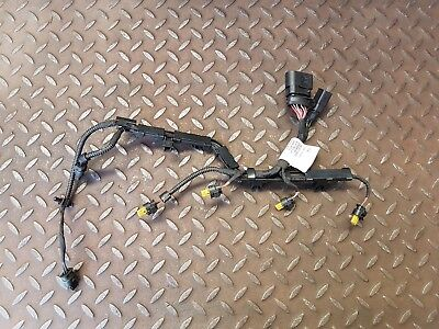 SKODA YETI 1.8 TSI PETROL MANUAL 2014 FUEL INJECTOR WIRING HARNESS 06J971082E