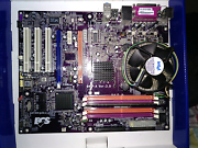 Intel cpu + mobo + ram Bundoora Banyule Area Preview