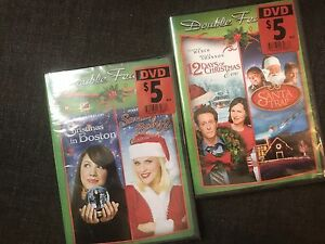 2 Double Feature Holiday Christmas DVDs