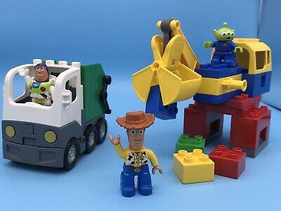 LEGO DUPLO Disney Pixar Toy Story 3 Set # Alien Space Crane Garbage Truck 5691