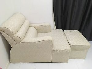 Chaise lounge (cream) Inala Brisbane South West Preview