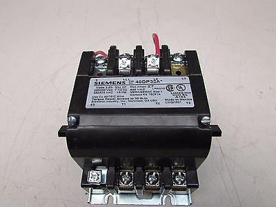 Siemens 40dp32a Size 1 Contactor  27a  24v Coil  Nnib Make Offer