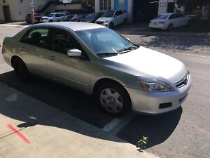 2006 Honda Accord Safetied and E-Tested! Low mileage!