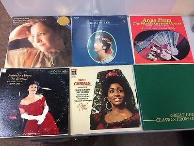 Lot Of Classical Music Records   Vocal Music Opera