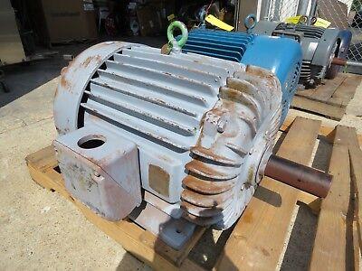 Baldor Electric Motor 75 Hp 365t 460v 1760 Rpm Cp4318t Rebuilt