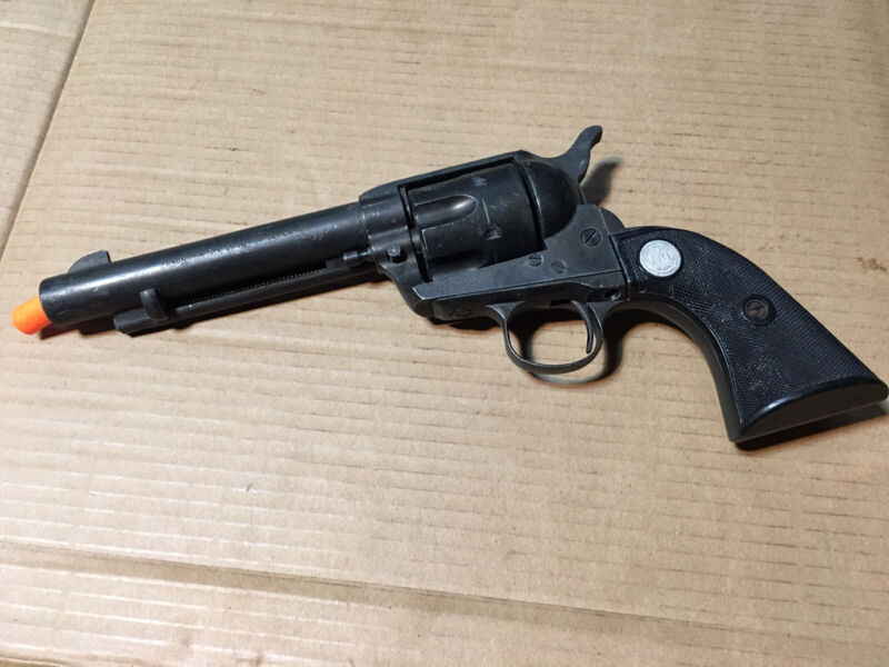 MGC 44-40 LONG BLANK CAVALRY/SCOUT 6-SHOOTER REPLICA MOVIE PROP