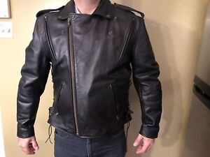Biker leather Jacket and boots