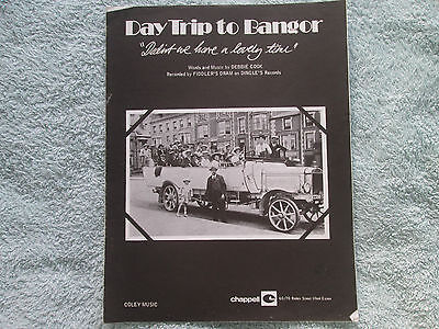 Day Trip To Bangor   (Didn't We Have A Lovely Time) Debbie Cook  sheet music
