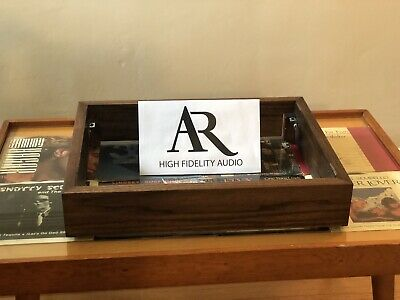 Custom Wood Plinth Turntable Base, Cabinet, Box. AR XA Acoustic Research