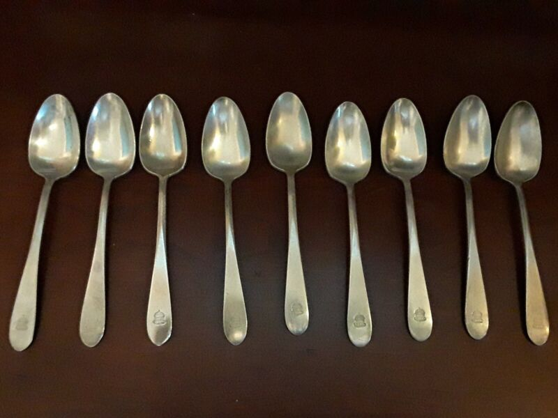 Greenbrier Hotel Vintage Springhouse silver teaspoons early/mid 1900
