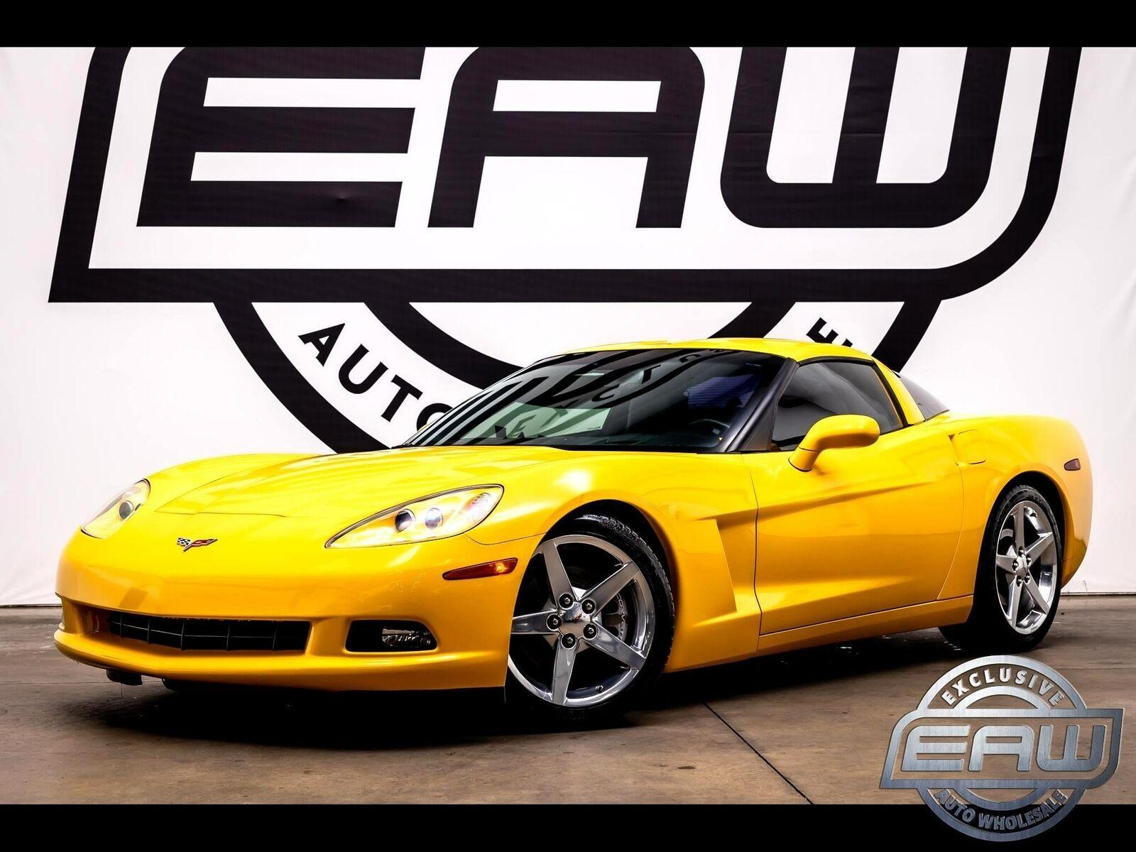2005 Yellow Chevrolet Corvette Coupe  | C6 Corvette Photo 1