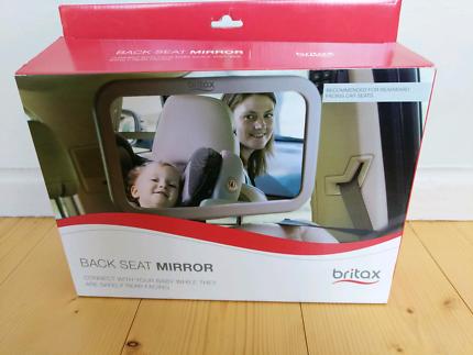 Britax baby back seat mirror