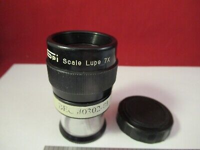 Optical Portable Lupe Magnifier Spi Japan 7x Metrology Inspection As Pic 13-02-3