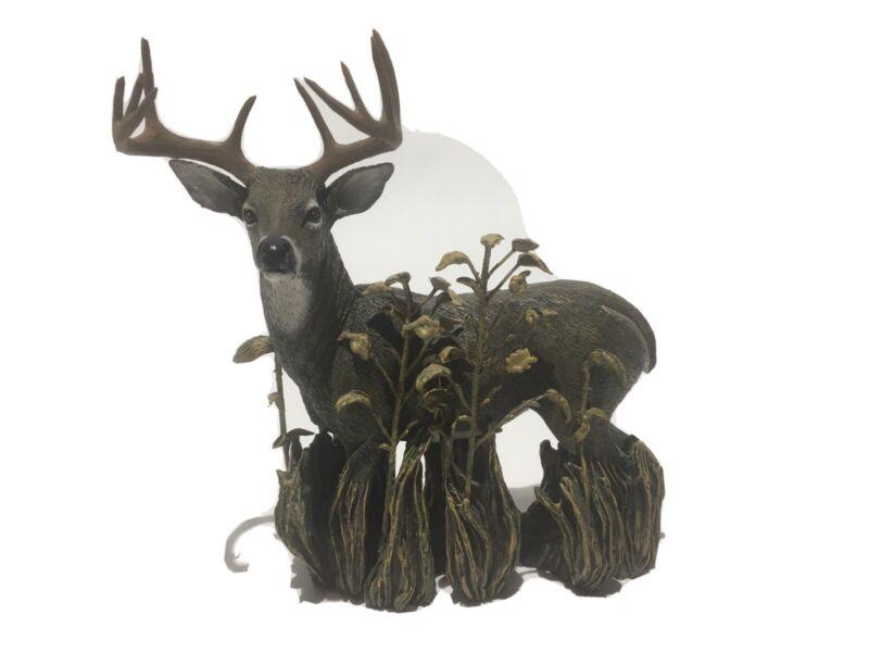 Wildlife Foundation Majestic Whitetail Deer Figurine