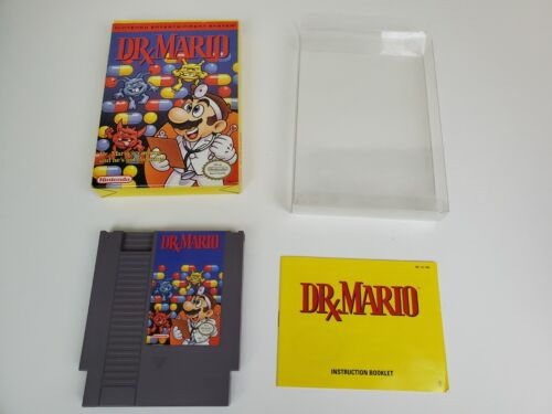 Dr. Mario NES Nintendo Entertainment System, 1990 Tested Authentic - $16.50